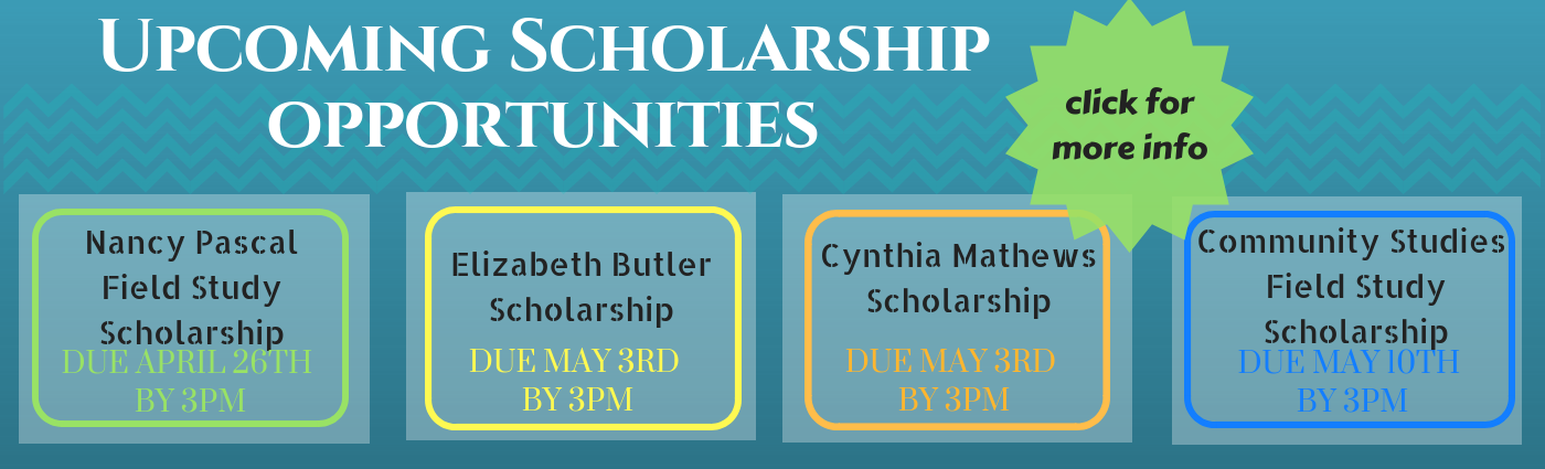 Scholarship opportunities for field study students